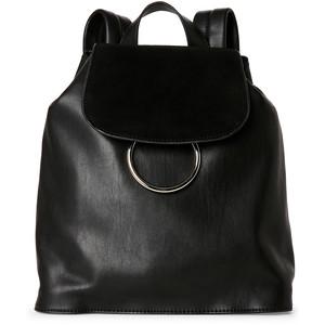 FRENCH CONNECTION Black Delaney Mini Backpack
