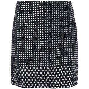 DAVID KOMA  studded mini skirt