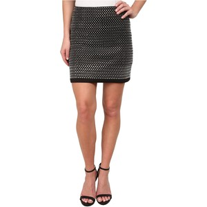 French Connection Diamond Rock Jersey Skirt 73EAL