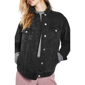 Oversize Denim Jacket TOPSHOP