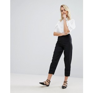 Fashion Union Pants With Frill Detail