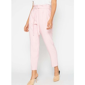 Blush Paper Bag Trousers