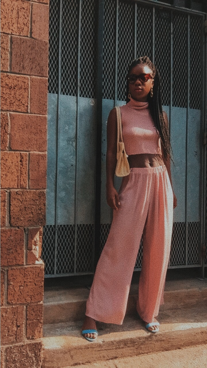 how to rock Millennial Pink