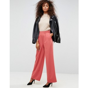 ASOS The Wide Leg Pant with Pleat Detail