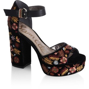 Sam Edelman Marsha Embroidered Platform Sandals