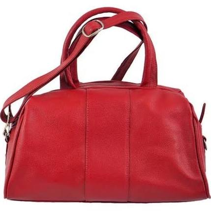 Piel Leather Women's Mini Satchel 3110, Red
