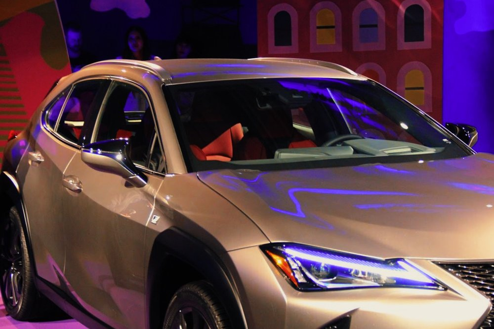 lexus ux car launch