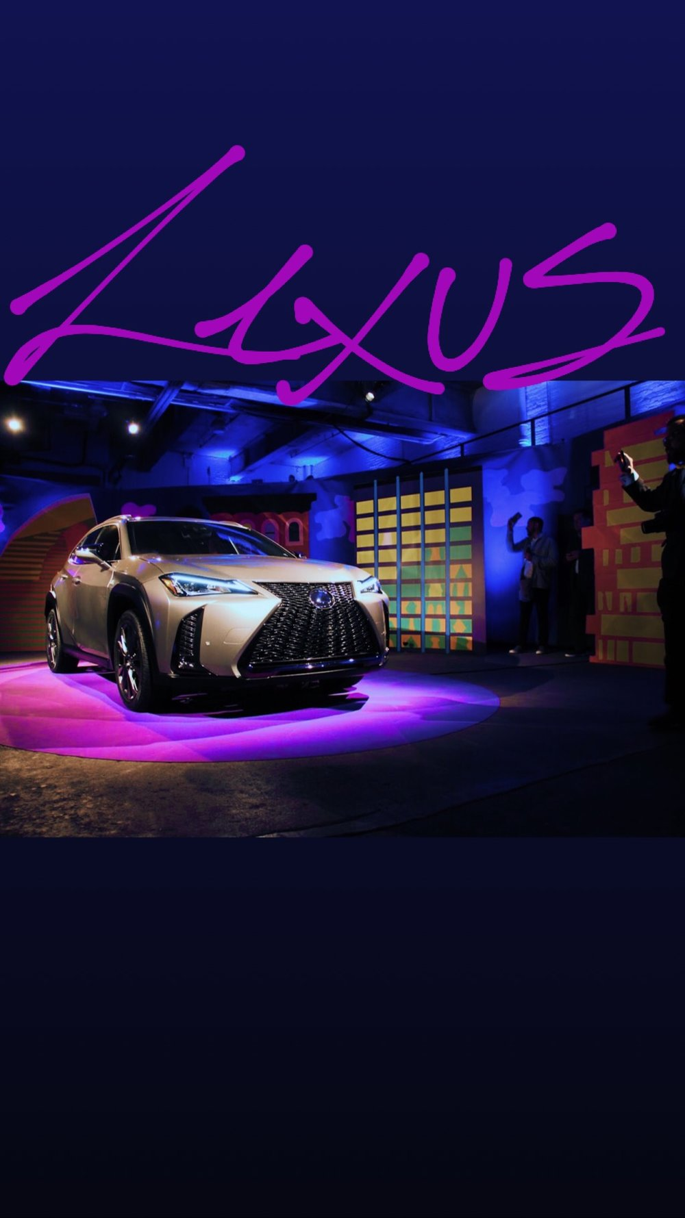 lexus auto show