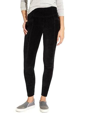 Cord High Waisted Metro Legging