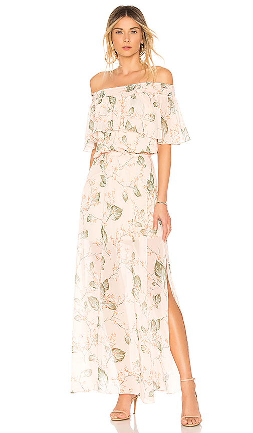 OFF THE SHOULDER MAXI DRESS  BOBI Bobi