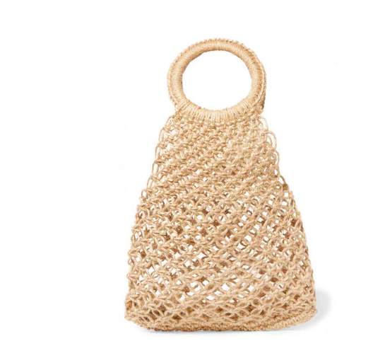 Elizabeth and James Alfonsito macramé tote