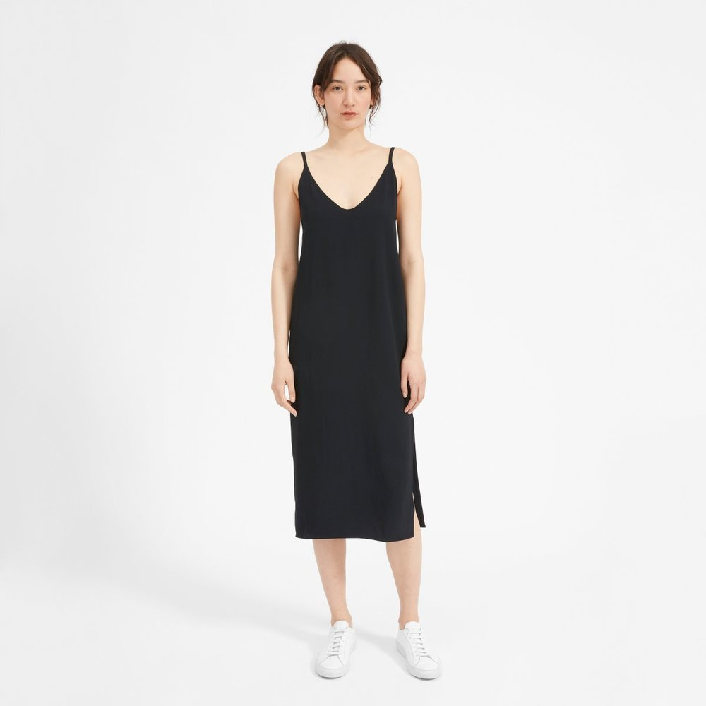 The Japanese GoWeave Long Slip Dress