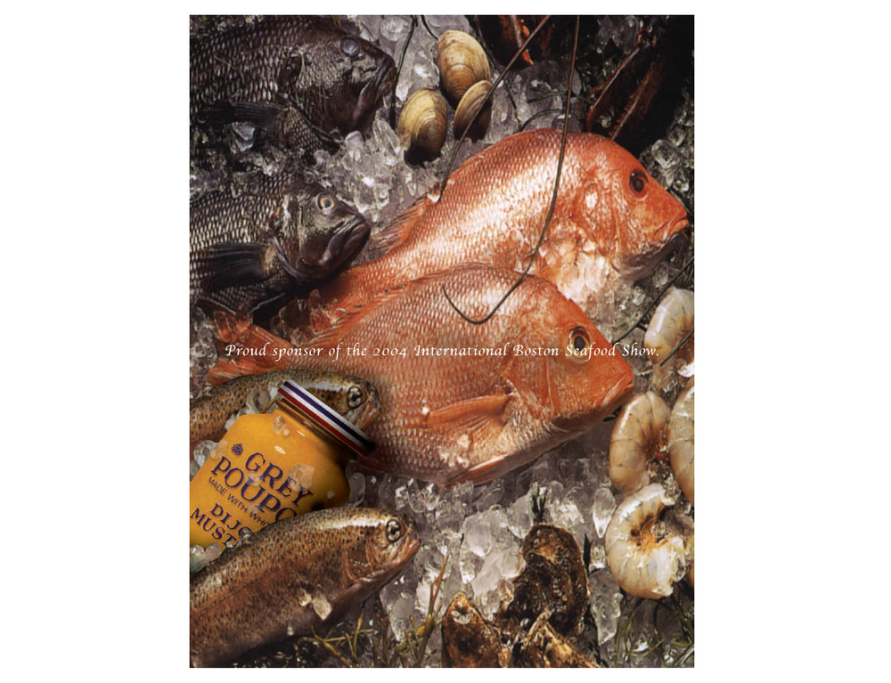 """Proud sponsor of the 2004 International Boston Seafood Show."""