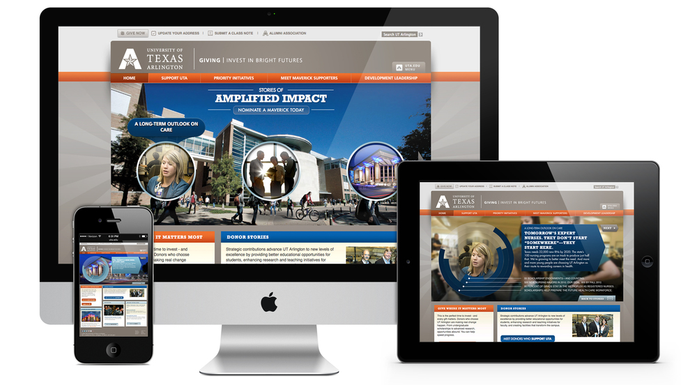 UTA  Giving Site