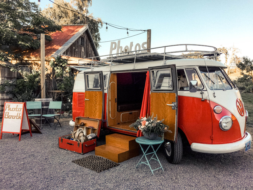 The Bay Area's original vintage VW Bus photo booth rental.  We travel anywhere to bring this unique photo booth to you!