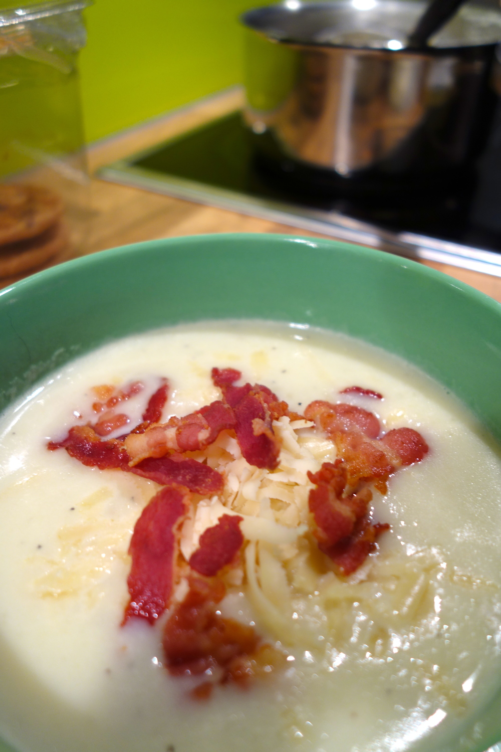 Quick 'n' Dirty {Just-Like-A-Baked-Potato Soup}