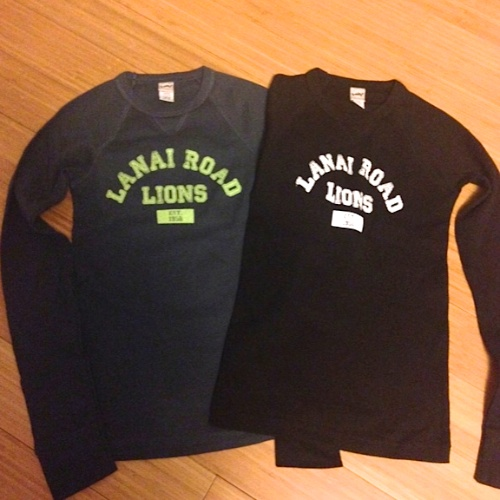 Youth long sleeve collegiate shirt, $20, Youth S-XL Black or indigo 100% cotton
