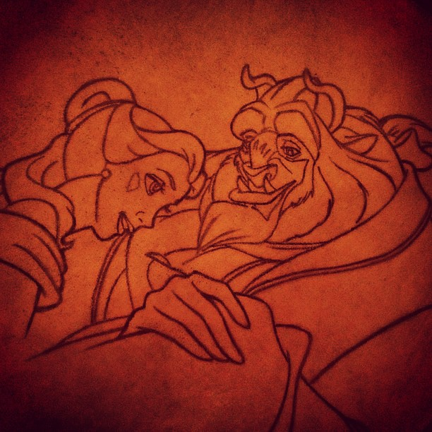 Tale as old as time. (Taken with  Instagram  at Sorcerer's Workshop)
