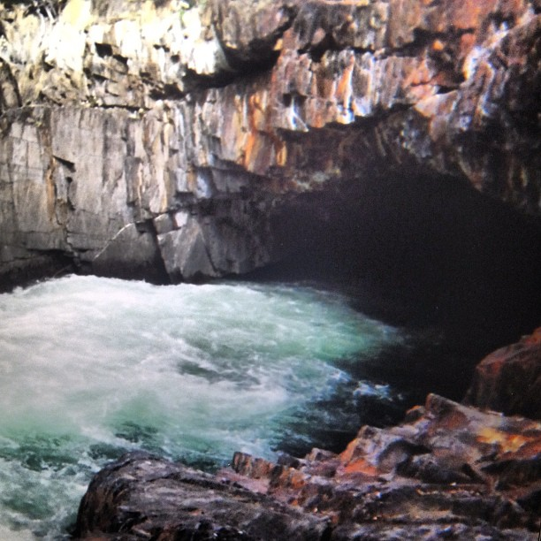 Metamorphic tunnel! (Taken with  Instagram )