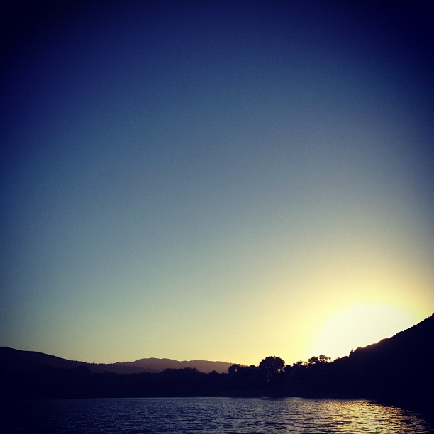 Soundless. (Taken with  Instagram  at Lake Elizabeth)