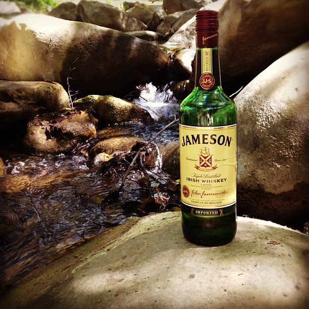 Jameson on the rocks. (Taken with  Instagram )