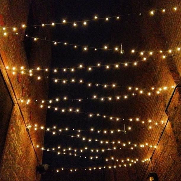 Brick lights. (Taken with  Instagram  at Far Bar)