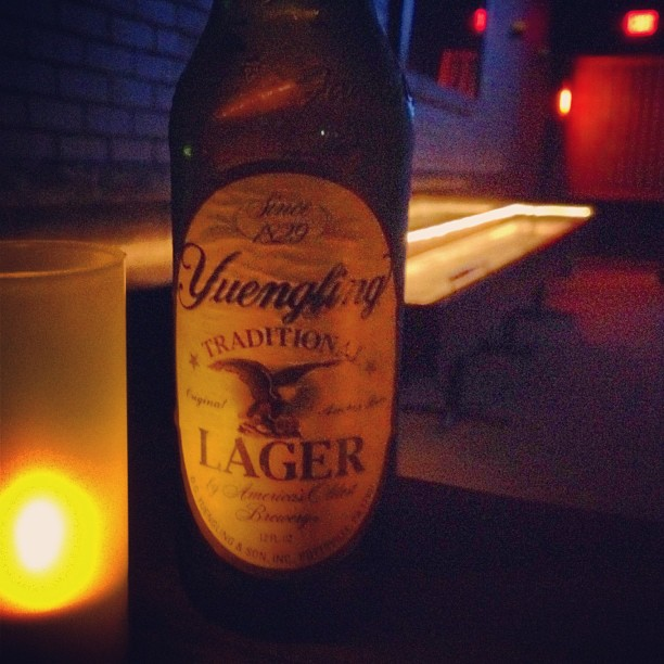 Yuengling made it west? Yippee!  (Taken with  Instagram  at The Brickyard Pub)