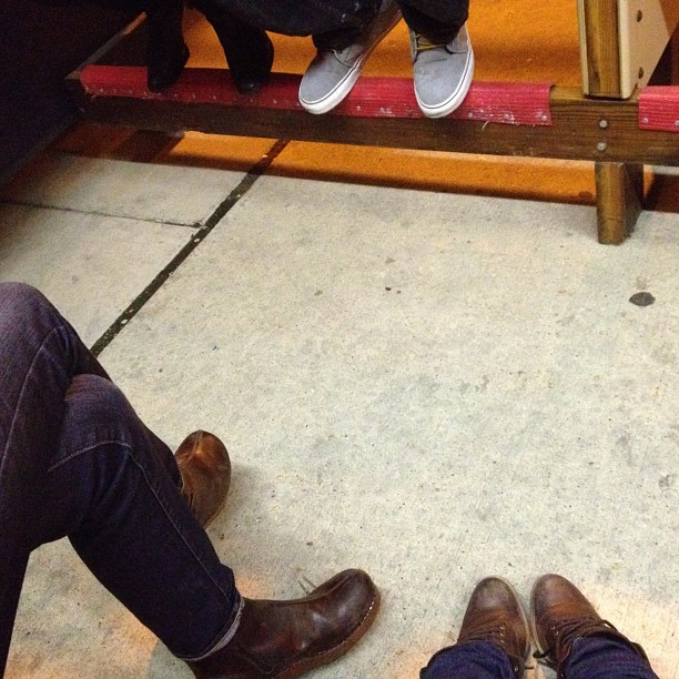 Feets. (Taken with  Instagram  at Ruxbin Kitchen)