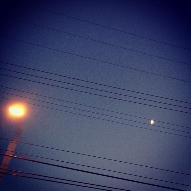 Moon light. (Taken with  Instagram )