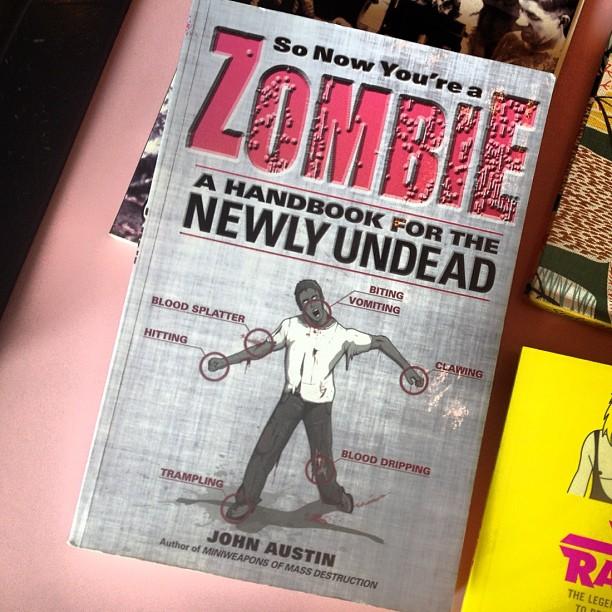 Zombie daze…can't wait til Oct. (Taken with  Instagram )