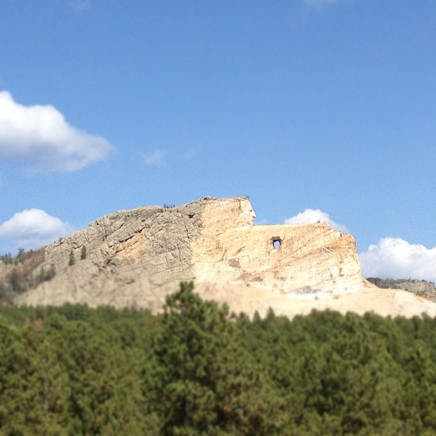 Crazy Horse. (Taken with  Instagram )