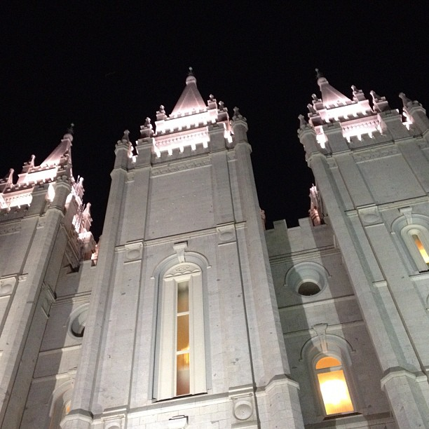 Salt Lake Temple. (Taken with  Instagram )