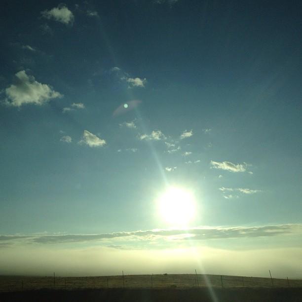 Morning sunrise in Cheyenne, Wyoming. (Taken with  Instagram )