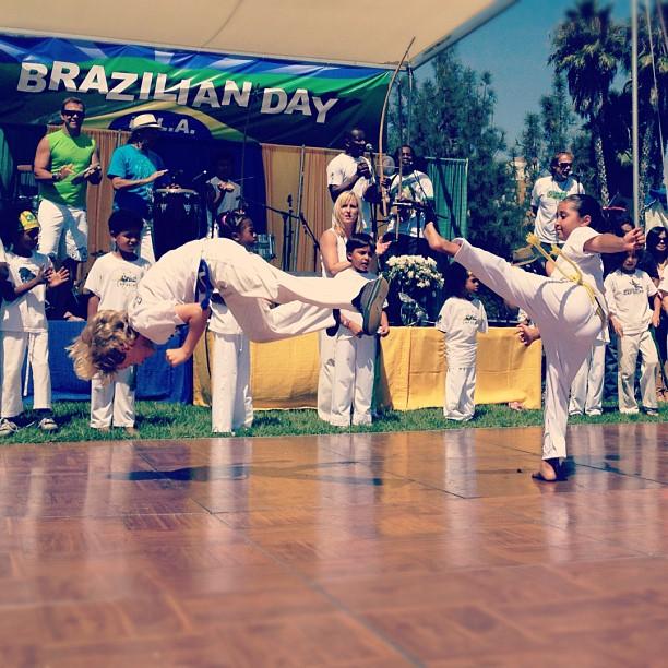 LB kids' capoeira. (Taken with  Instagram )