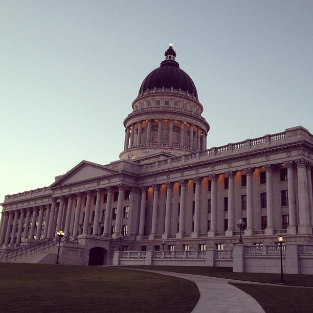 Utah State Capitol. (Taken with  Instagram )