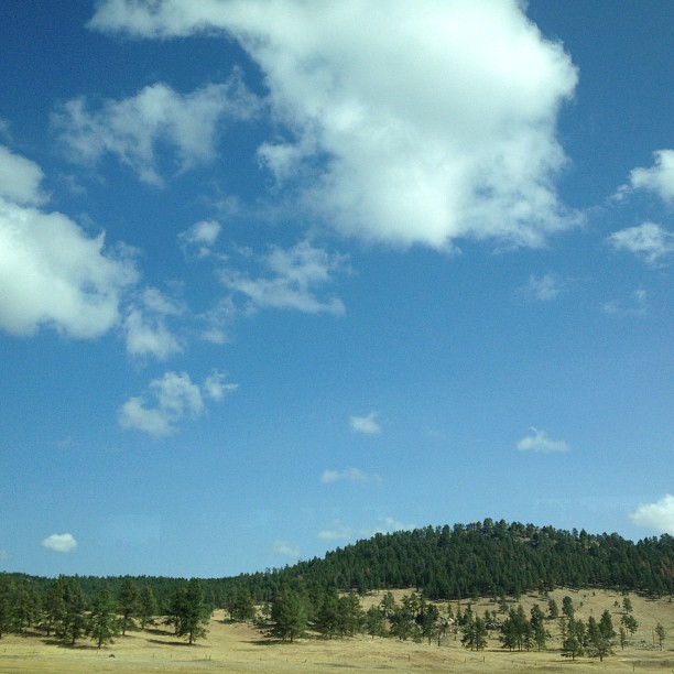 Afternoon in South Dakota.  (Taken with  Instagram )