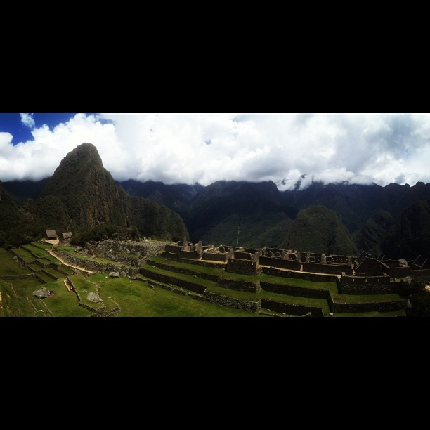 For the gods, geography, and agriculture. Yet, it remains a mystery. #machupicchu #viewfromthesundial