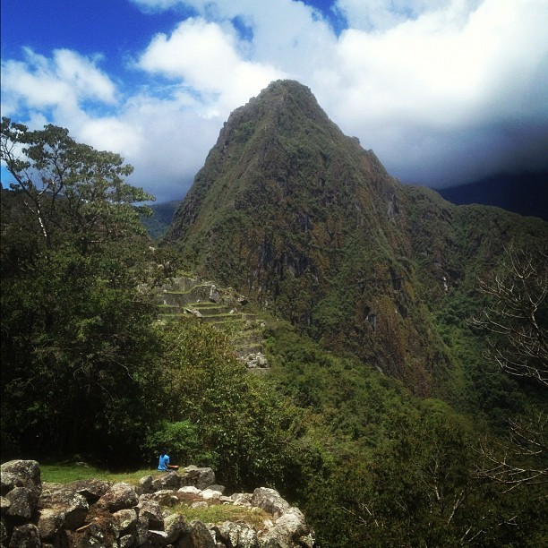 """If one advances in the direction of one's dreams, and endeavors to live the life which one has imagined, one will meet with a success unexpected in common hours."" -Henry David Thoreau @cmviii #machupicchu #meditative #awonderoftheworld #peru"