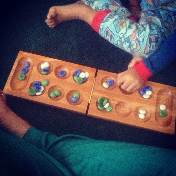 Saturday morning mancala. (at Mia casa)