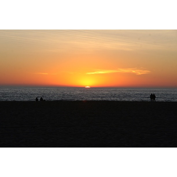 Winter Sunset at Venice Beach. Venice, CA 2009. #canon #venicebeach