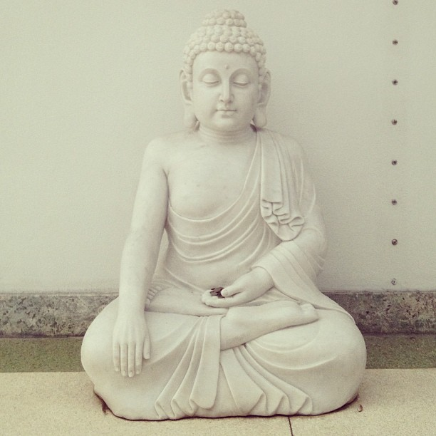 Found Buddha in Miami. #downthestreet (at Miami Beach)