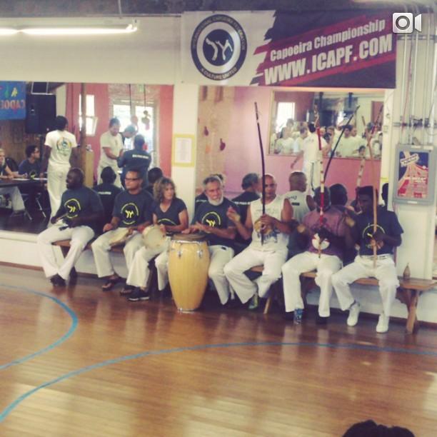 Mestre Acordeon! #capoeirachampionship #icapf #bateria #axé  (at Brasil Brasil Cultural Center)