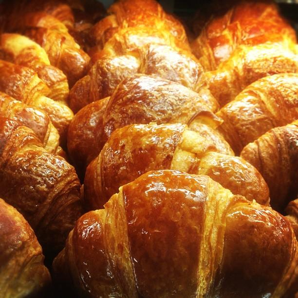 Fluffy crossiants. 👌😋 (at Porto's Bakery & Cafe)