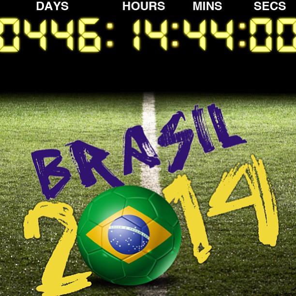 Eu não posso esperar! #icantwait #fifa #brasil