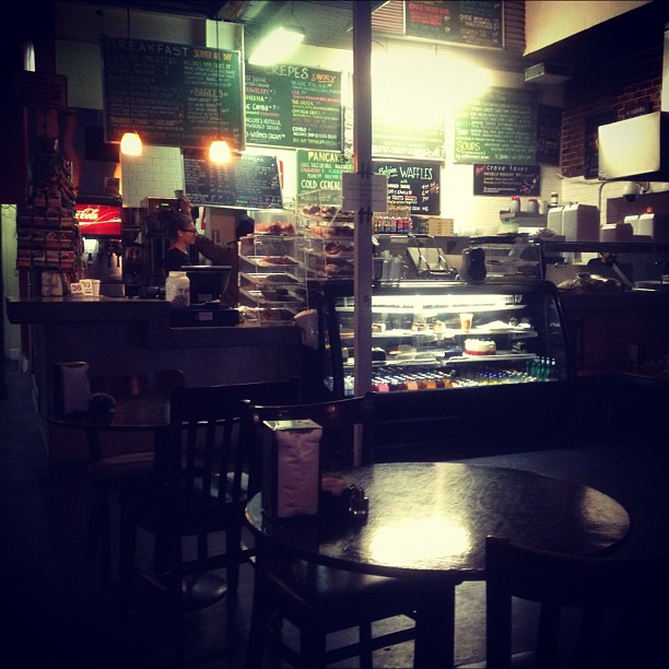 Late night breakfast.  (at Crave Cafe)