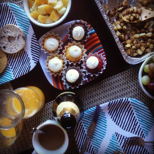 Dessert time. (at Casa de Martinez)
