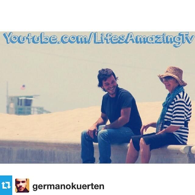 "Beautiful piece. Go G'Mano!                             ""Laughing with Random People""  www.youtube.com/lifesamazingtv.   #checkitout #film"