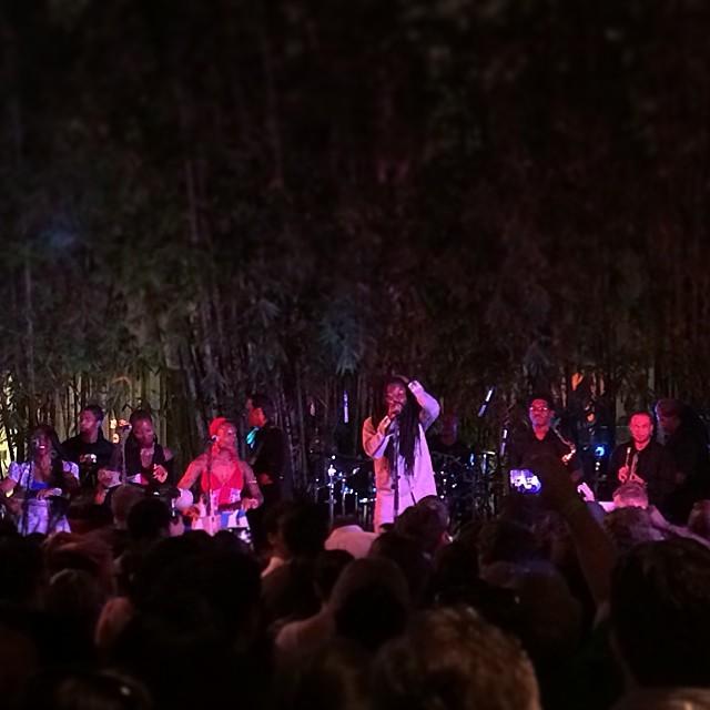 Afro Funke' night w Rocky Dawuni, Jeremy Sole, Glenn Red. #72014 #kcrw (at Hammer Museum)