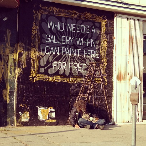 On painting. (Taken with  instagram )