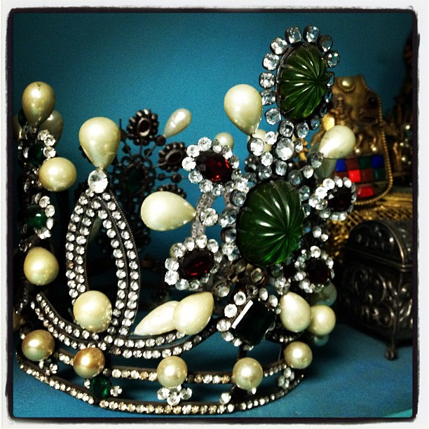 Crowns n stuff. (Taken with  instagram )